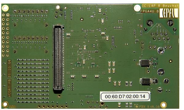 The FPGA4U Board (back)